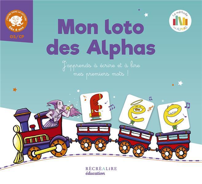 Mon loto des Alphas ; j'apprends à écrire et à lire mes premiers mots !