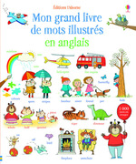 Vente EBooks : Mon grand livre de mots illustrés en anglais  - Mairi Mackinnon