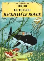 Couverture de Les aventures de tintin t.12 ; le trésor de rackham le rouge