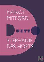 Vente EBooks : Nancy Mitford - Duetto  - Stéphanie Des Horts