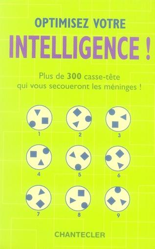 Optimisez votre intelligence !
