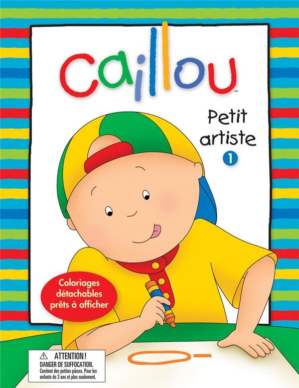 Caillou ; Petit Artiste T.1