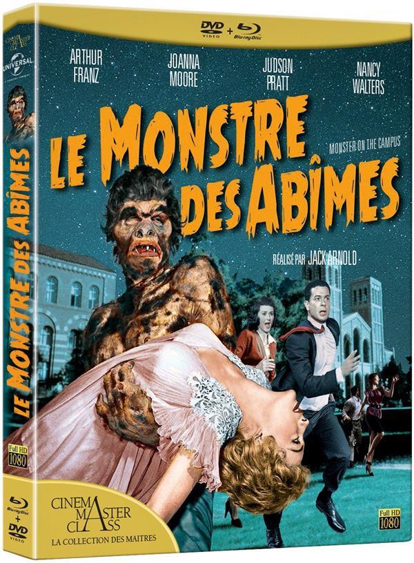Le Monstre des abîmes - Jack Arnold - Elephant Films - Blu-ray - Place des Libraires