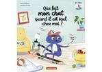 Vente Livre Numérique : Que fait mon chat quand il est seul chez moi ?  - Paule Battault