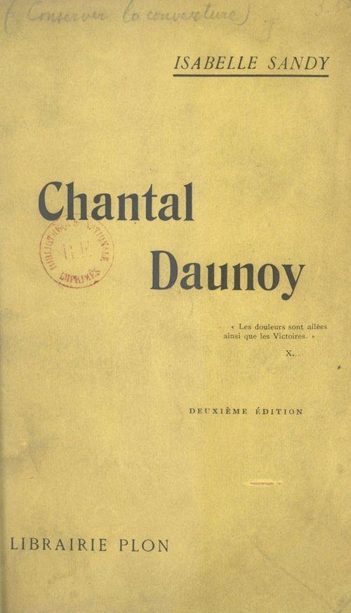 Chantal Daunoy  - Isabelle Sandy
