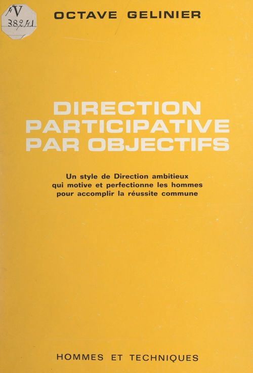 Direction participative par objectifs