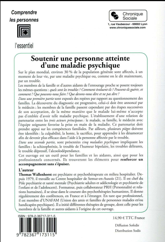 Soutenir une personne atteinte d'une maladie psychique