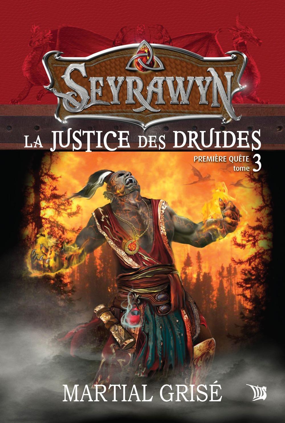 Seyrawyn t.3 ; la justice des druides
