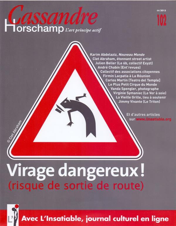 Cassandre t.102; virage dangereux !