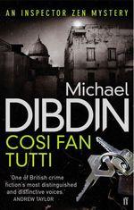 Vente Livre Numérique : Cosi Fan Tutti  - Michael Dibdin