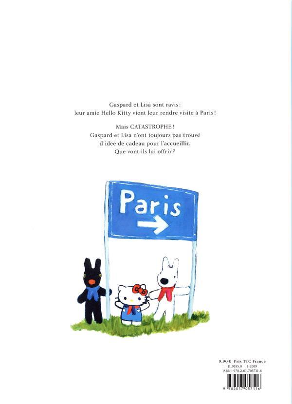 Hello kitty, Gaspard et Lisa à Paris !