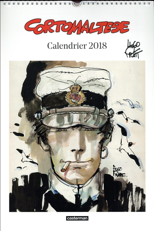 CALENDRIER CORTO MALTESE 2018 Pratt Hugo