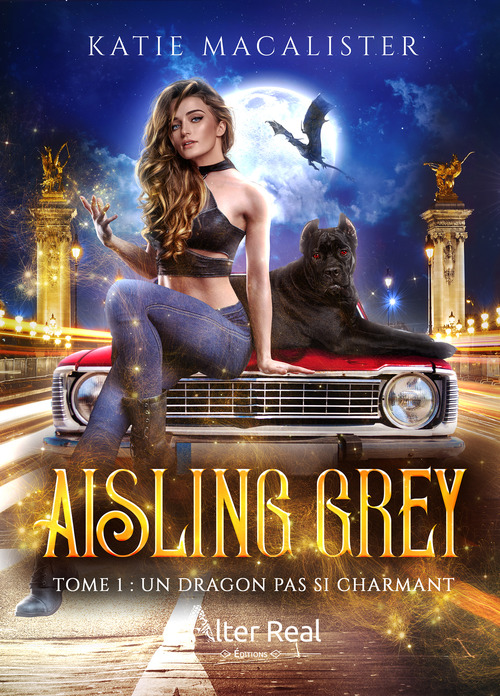 Aisling grey - t01 - un dragon pas si charmant - aisling grey #1  - Katie MacAlister