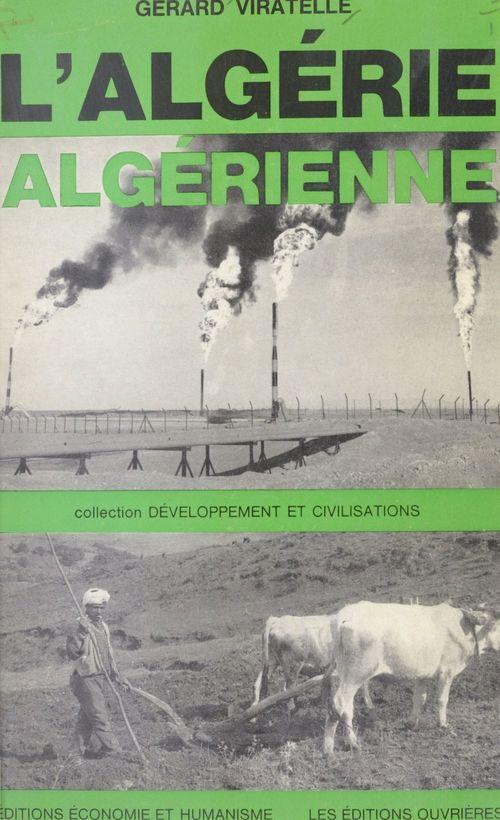 L'Algérie algérienne