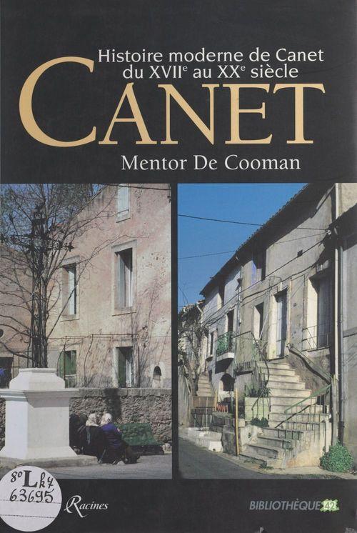 Histoire moderne de Canet du XVIIe au XXe siècle