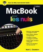 Vente Livre Numérique : MacBook, 5e édition Pour les Nuls  - Mark L. CHAMBERS