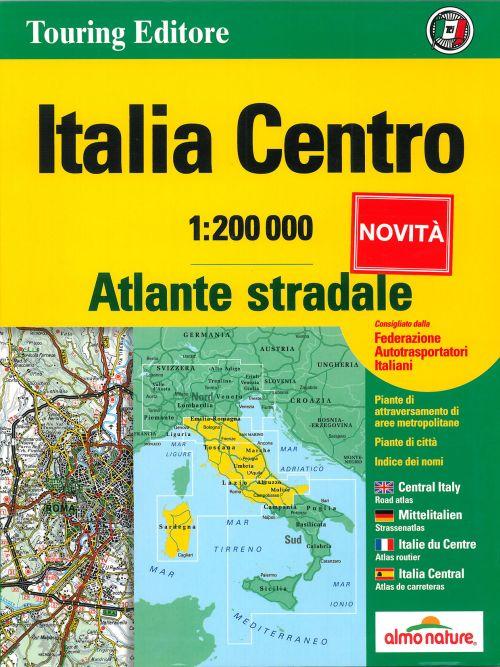**atlas routier italie centre