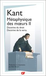 Vente EBooks : Métaphysique des moeurs (Tome 2) - Doctrine du droit - Doctrine de la vertu  - Emmanuel KANT