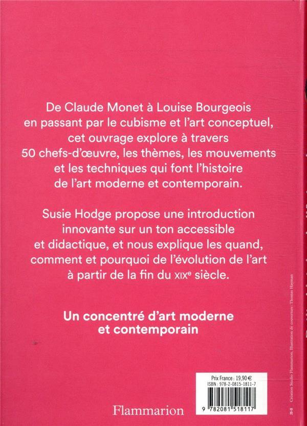 Petite histoire de l'art moderne et contemporain ; chefs-d'oeuvre, mouvements, techniques