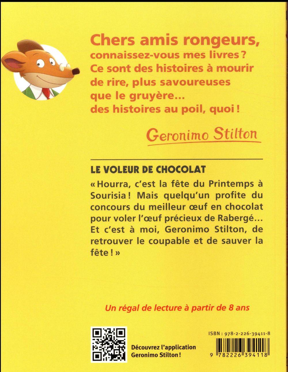 Geronimo Stilton t.82 ; le voleur de chocolat