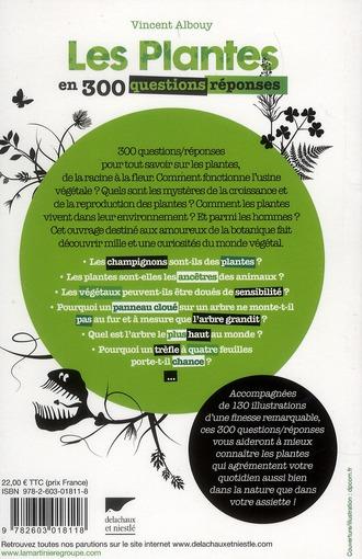 Les plantes en 300 questions-réponses