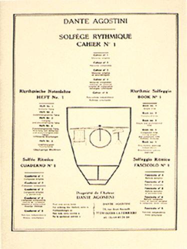 Solfège rythmique t.1