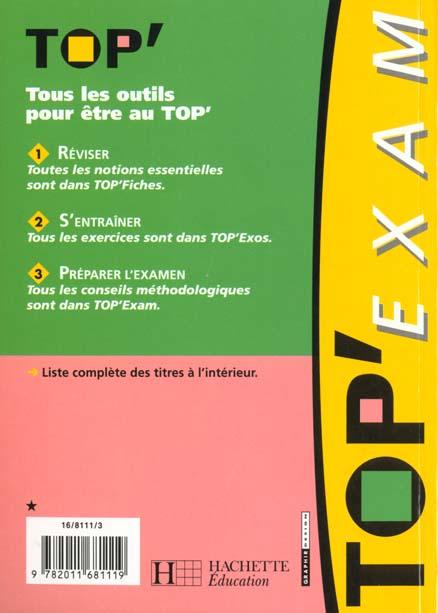 TOP'EXAM T.16