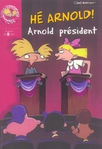 Couverture de Arnold president