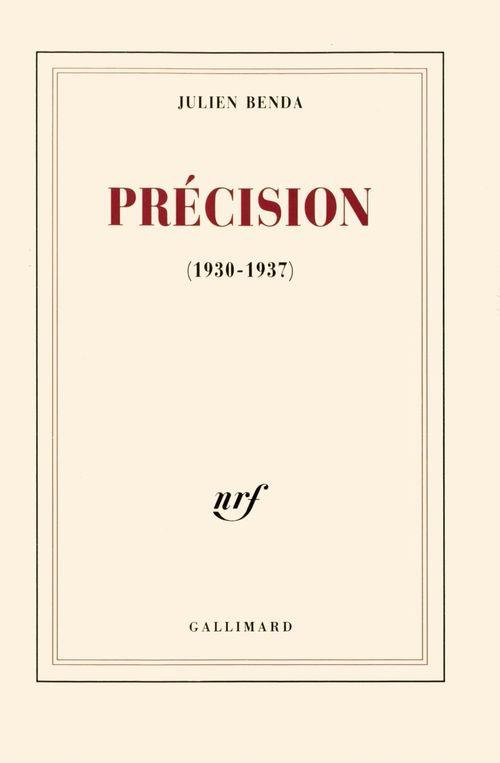 Précision (1930-1937)