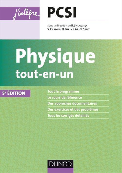 Physique tout-en-un PCSI (5e édition)