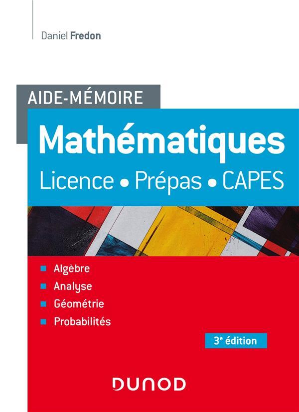 Aide-mémoire ; mathématiques (3e édition)