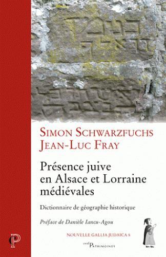 Présence juive en Alsace et Lorraine médiévales