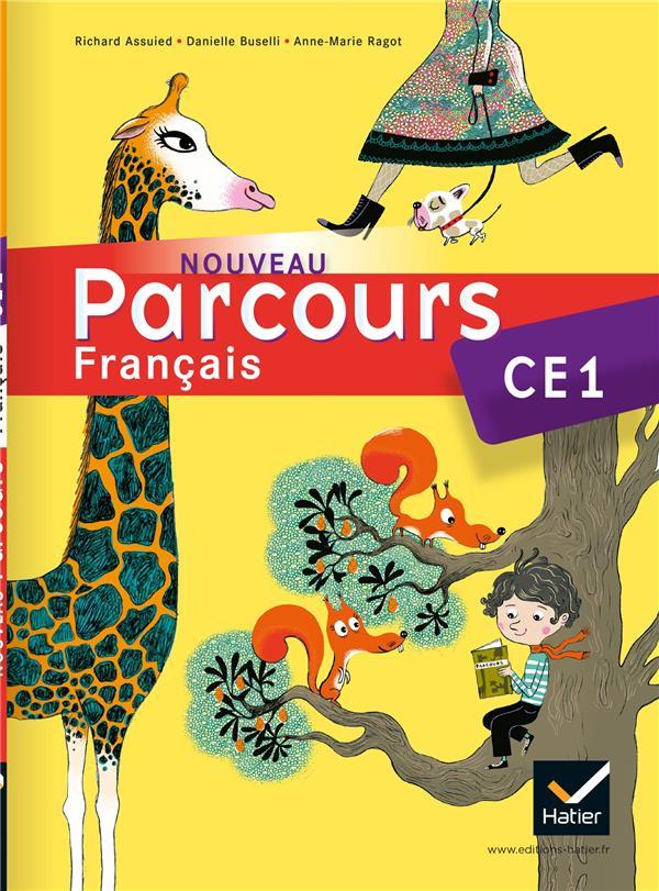 Parcours ; Francais ; Ce1 ; Livre De L'Eleve (Edition 2011)