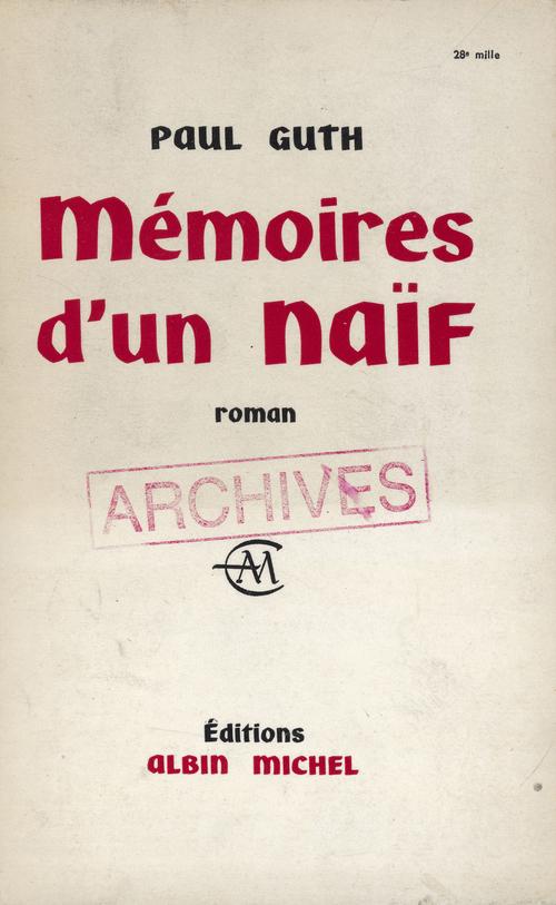 Mémoires d'un naïf