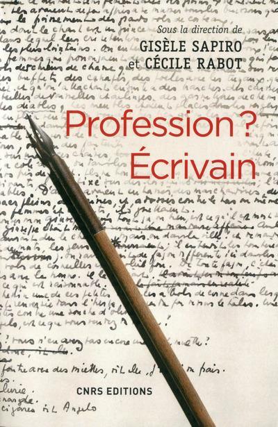 profession ? écrivain
