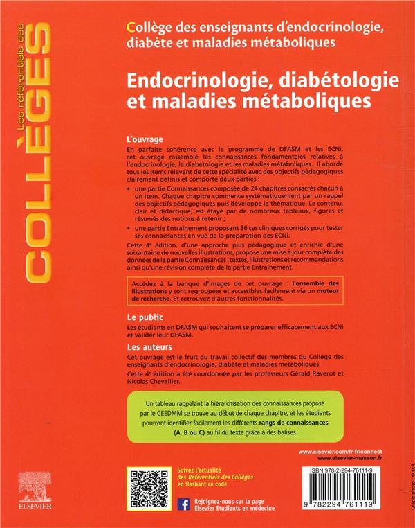 Endocrinologie, diabétologie et maladies métaboliques (4e édition)