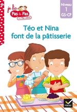 Vente Livre Numérique : Téo et Nina font de la pâtisserie  - Marie-Hélène Van Tilbeurgh - Isabelle Chavigny