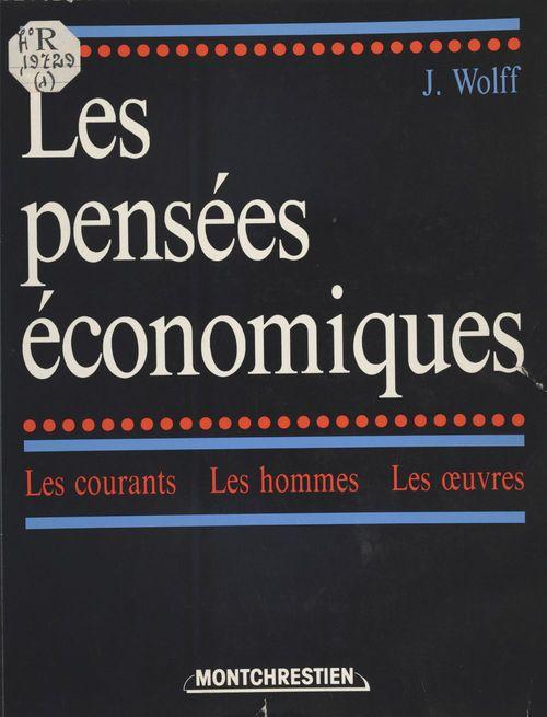Hist.pensees economiques  1