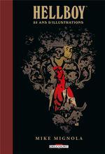 Couverture de Hellboy - 25 Ans D'Illustrations - One-Shot - Hellboy - 25 Ans D'Illustrations