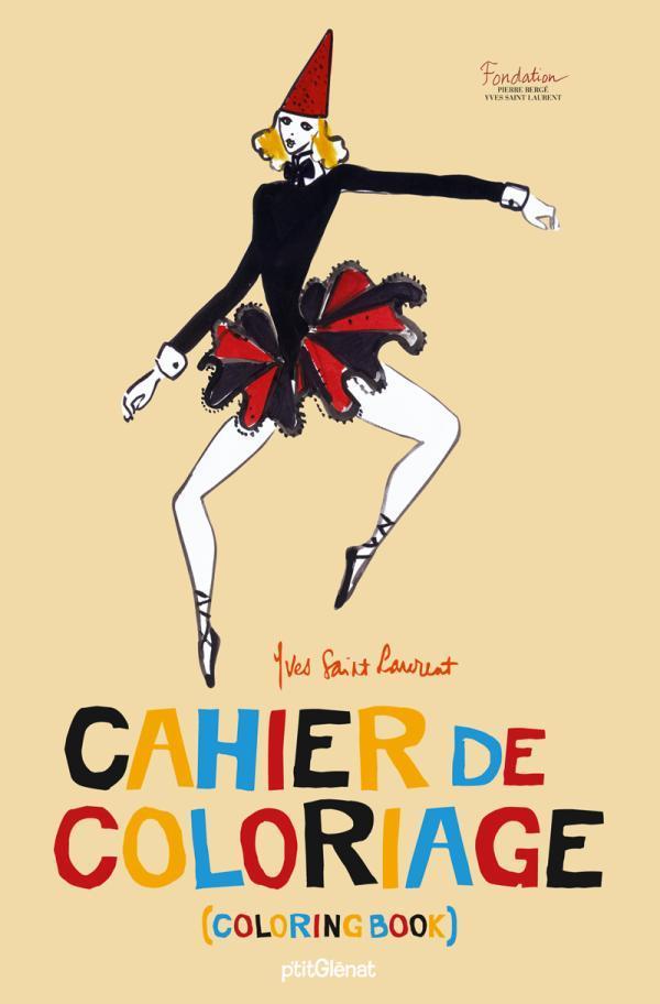 Cahier de coloriage Yves Saint Laurent