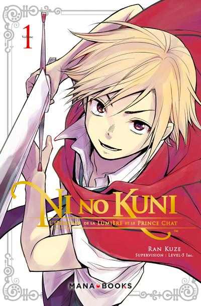 Ni no Kuni ; l'héritier de la lumière et le prince chat  t.1