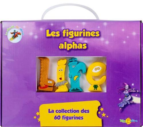 La planète des alphas ; la collection de 60 figurines