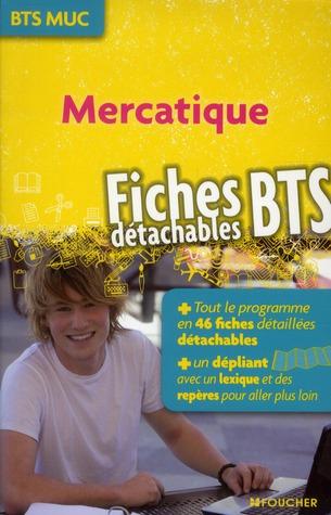Mercatique ; fiches BTS (édition 2012)