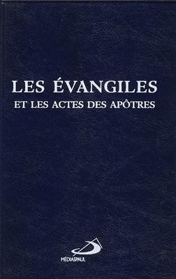 Les Evangiles Et Les Actes Des Apotres Couverture Vynile