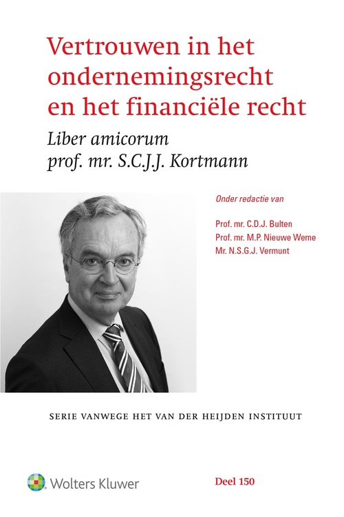 Vertrouwen in het financiële recht en het ondernemingsrecht