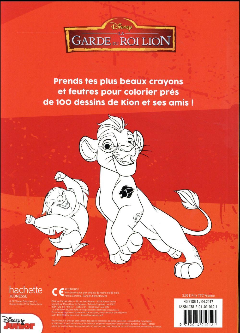 Maxi Colos La Garde Du Roi Lion Disney Disney Hachette Papeterie Coloriage Librairie Gallimard Paris