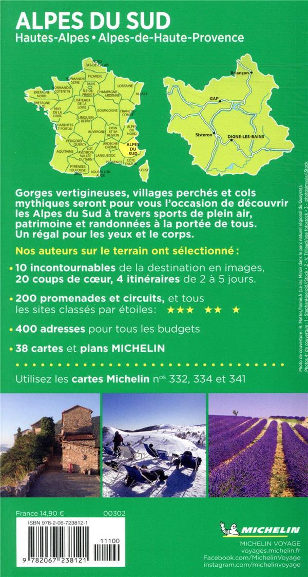 Le Guide Vert Alpes Du Sud Hautes Alpes Alpes De Haute Provence Collectif Michelin Michelin Grand Format Montbarbon Bourg En Bresse