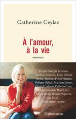 Vente livre : EBooks : À l'amour, à la vie  - Catherine Ceylac