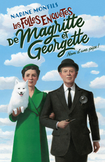 Vente Livre Numérique : Les Folles enquêtes de Magritte et Georgette : Nom d'une pipe !  - Nadine Monfils