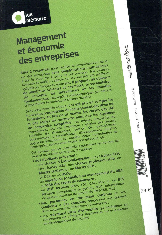 Management et économie des entreprises (12e édition)